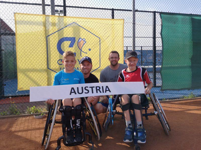 Erstes ITF Junior Camp für Taucher Maximilian