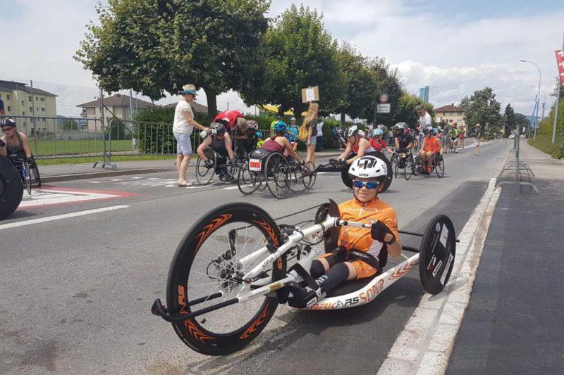 Handbike-Ass Taucher auch in Schenkon ganz vorne