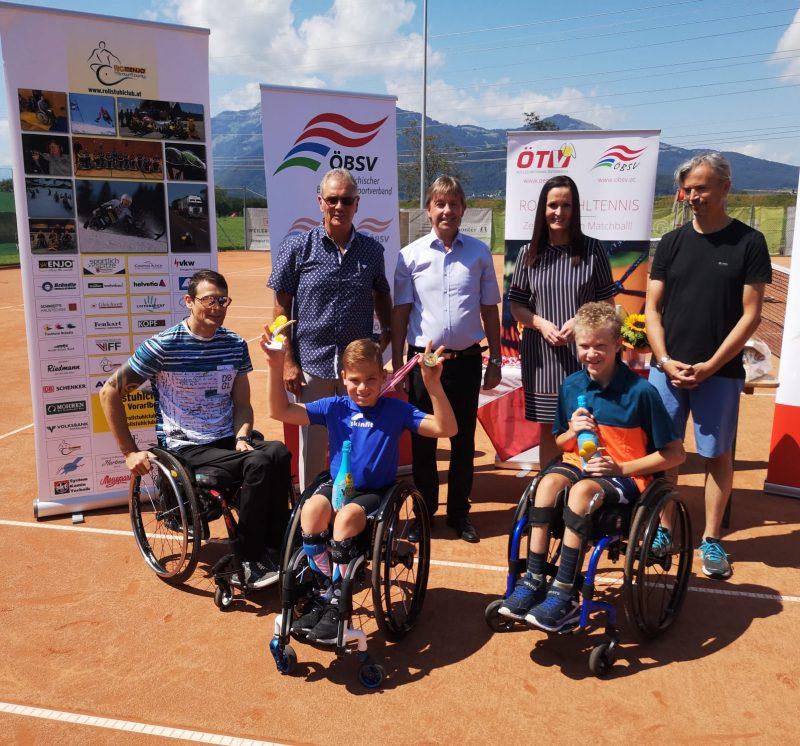 Erfolgreiche Staatsmeisterschaften 2019 im Rollstuhltennis